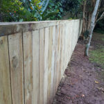 Capped top boundary fence – Kamo, Whangarei