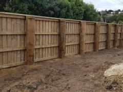 We have been very busy being involved in the Tawera Road widening project for the NZTA. The next time you are driving past the Tawera Road intersection on State Highway 1 be sure to check out our amazing acoustic fencing. We are pleased to be making things a little quieter for the local residents.